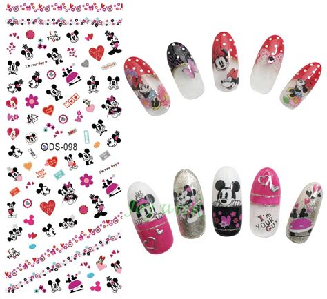 Nail Sticker Mickey water transfer nails sticker mickey mouse nail