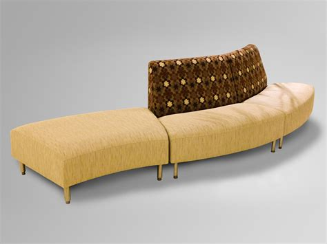Curved Ottoman Cubecart Curved Ottoman