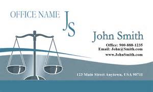 classic scales of justice lawyer business card design