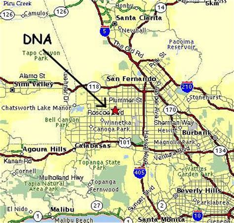 northridge california map alf img showing gt northridge california map