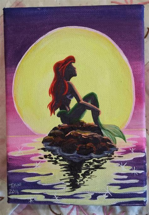 ariel painting ariel the mermaid ariel and