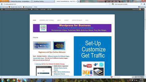 wordpress theme creator tutorial static homepage wordpress twenty twelve theme