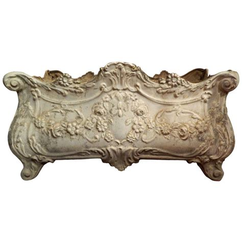 19th Century French Revival Cast Iron Planter At 1stdibs Cast Iron Planter