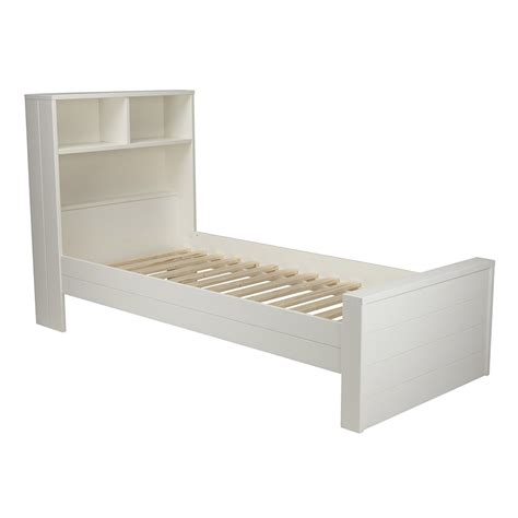 single headboards white max contemporary white single bed with headboard storage