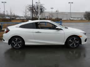 Honda Civic Coupe 2017 New Honda Civic Coupe Touring Cvt At Mclarty Honda