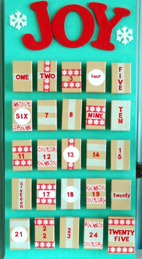 how to make your own calendar handmade make your own advent calendar the pretty bee