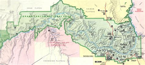 grand map images when was the grand national park created the