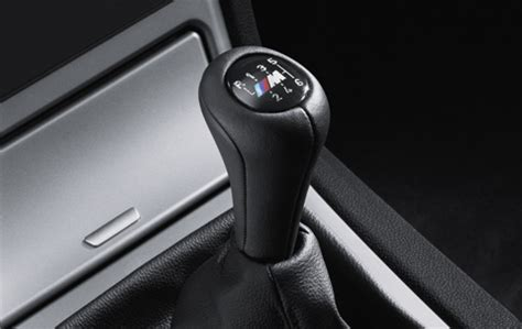 bmw genuine m leather 6 speed sport gear stick shift knob