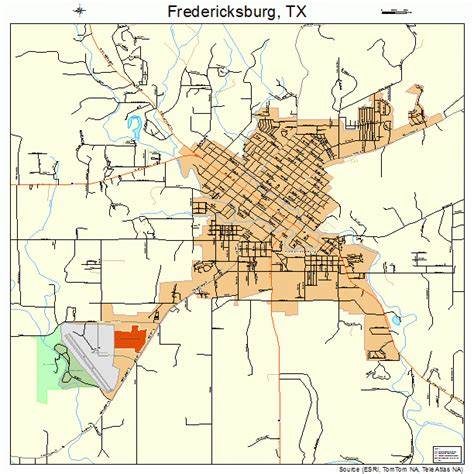 fredericksburg texas map fredericksburg texas map 4827348