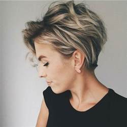 trendy hairstyle looks like a herringbone but with rubberbands 10 messy hairstyles for short hair quick chic women