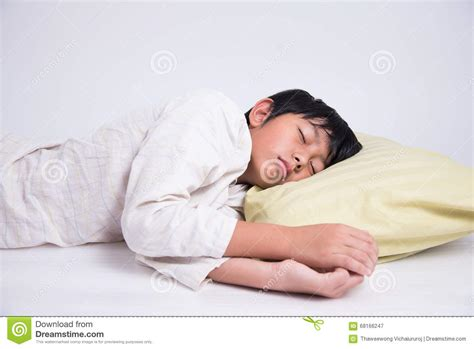 sleeping in asia asian boy sleep stock photo image 68166247
