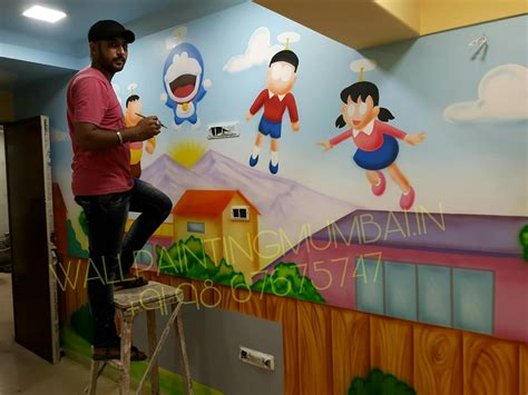 play all painting play school wall painting specialized painting