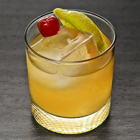 whiskey sour cocktail with fresh lemon recipe dishmaps