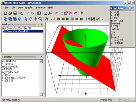 free 3d graphing software 3d grapher plots animated 2d and 3d graphs of equations