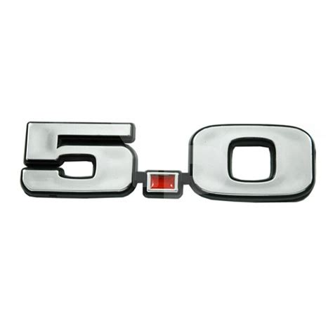 1979 1993 ford mustang 5 0 chrome emblem all products
