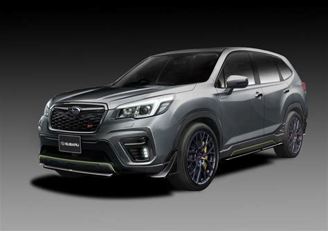 2019 Subaru Hybrid by Subaru S Sti Division Has A Tuned Forester Hybrid For The