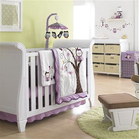 baby owl bedding girl bedding baby s first 174 by nemcor plum owl 6 piece