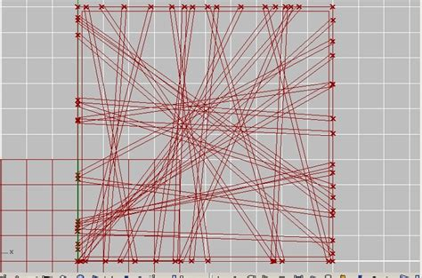 line pattern grasshopper extract outline from crossing lines plz help grasshopper