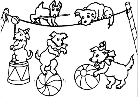 circus coloring pages nywestierescue com