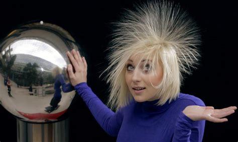 hair generator the world through electricity de graaff generator
