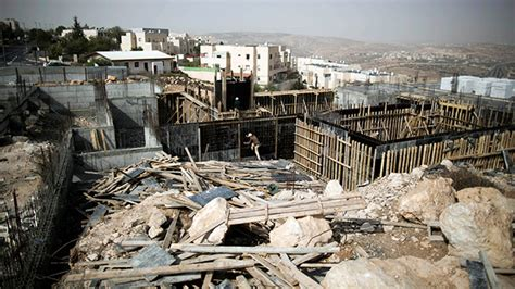 israel housing israel destroying peace process with new housing