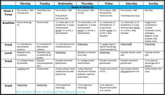 4 week meal planner event planner template