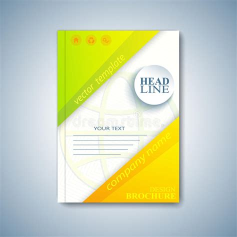 booklet cover layout modern template layout brochure magazine flyer booklet