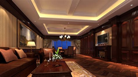 living room ceiling design  luxury villa interior