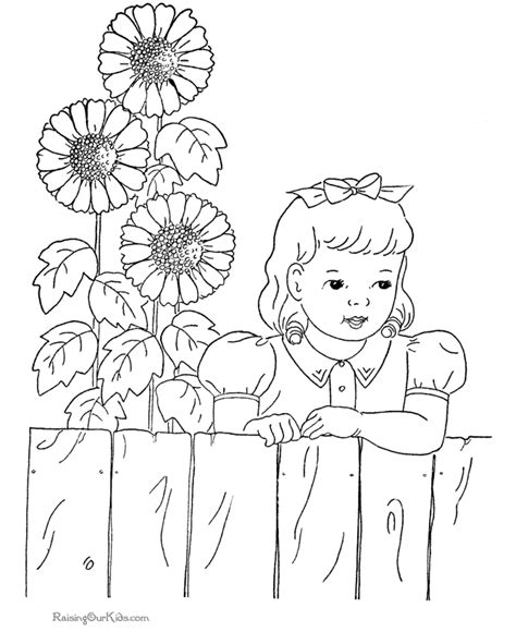 coloring pictures of sunflowers sunflower coloring pictures coloring home