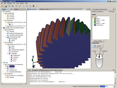 gear layout software software for gear design and manufacturing simulation on