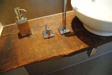 schemel altholz waschtisch aus altem eichenbrett ge 246 lt konzepte aus holz
