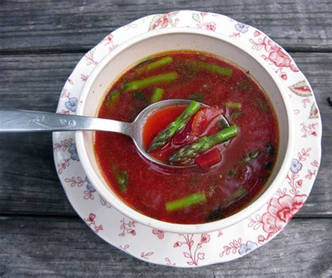 Cleansing Detox Soup Healthy Delicious by Detox Soup Cleansing Miso Beet Asparagus Honest Fare