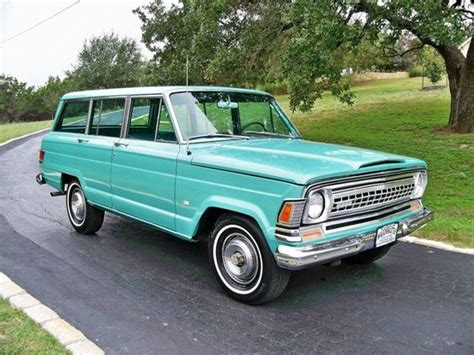 Jeep With Wood Paneling Buy A Vintage Jeep Grand Wagoneer Its Beautiful Cheese