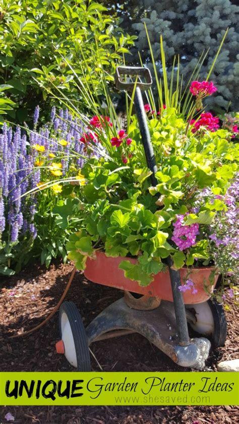 Unique Flower Planter Ideas by Unique Garden Planter Ideas Shesaved 174