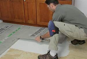 how to install a cement backerboard at the home depot