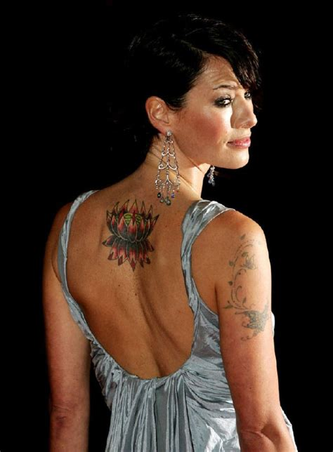 lena headey tattoos pictures images pics photos of her tattoos
