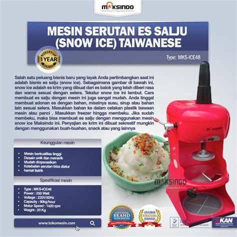 Sale Snow Juice 5kg For Mesin Kepingan Salju Pp012 mesin serutan es salju snow taiwanese toko mesin maksindo toko mesin maksindo