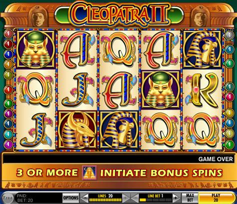 Cleopatra Maxy 2 cleopatra ii slots machine free to play and reviews
