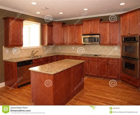 enterprise sells 20 20 kitchen design and lumber pack luxury cherry wood kitchen with island stock photo image