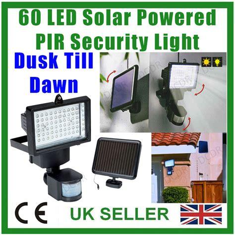 motion sensor light settings dusk to dawn 4x 60 led solar power security light pir dusk dawn