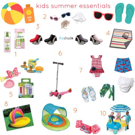 4 Posts With Summer Essentials by Summer Must Haves Baby Takes Manhattan