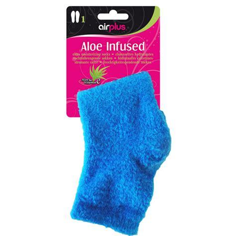 Set Of 4 Socks airplus aloe infused spa socks set of 4 sports