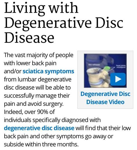 veria living health fitness diseases conditions de 8 b 228 sta degenerative disc disease bilderna p 229 pinterest