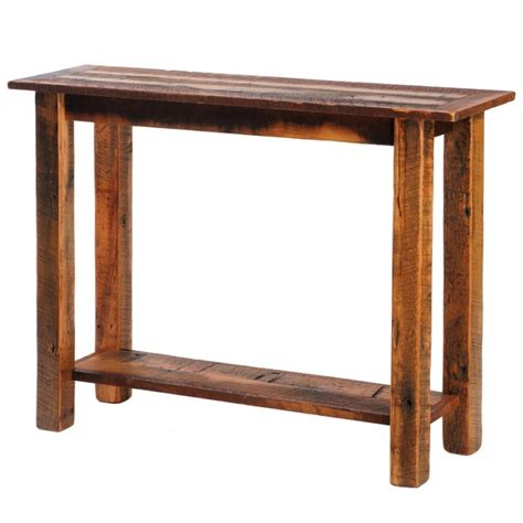 Barn Wood Sofa Table Barn Wood Sofa Table