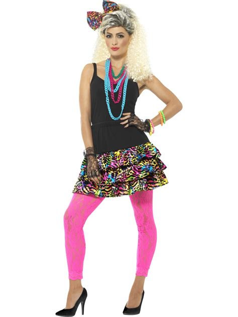 80s Accessories Set For by 80s Kit All Costumes Mega Fancy Dress