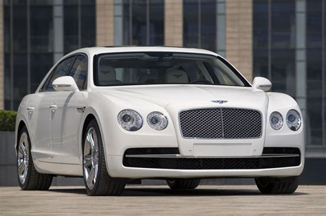 white bentley flying spur 2014 bentley flying spur front photo glacier white