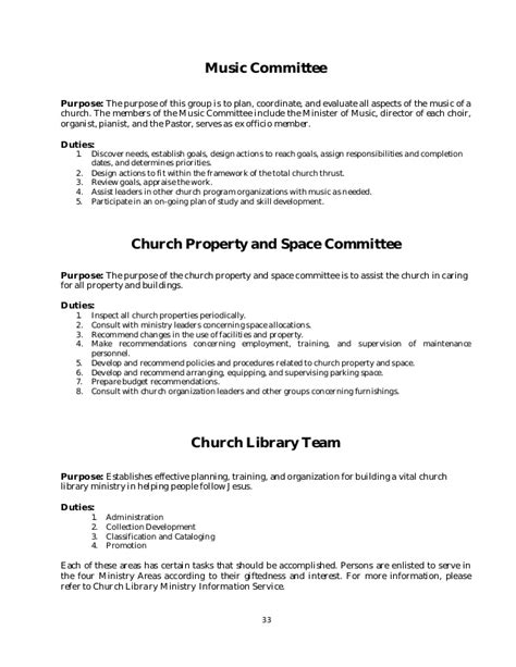 Template For Pastoral Installation Program Just B Cause Church Policy And Procedures Manual Template
