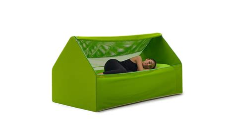 design milk bed an inflatable house shaped bed for guests design milk