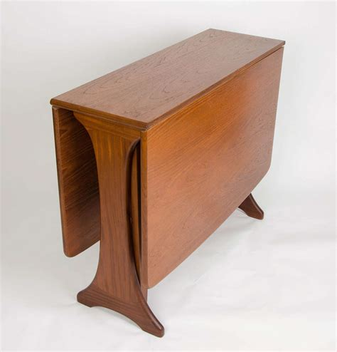 dining room table plans with leaves g plan dining table drop leaf teak circa 1950s at 1stdibs