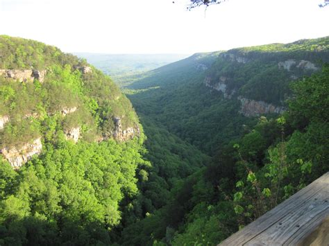 adventure at cloudland canyon state park in northwest